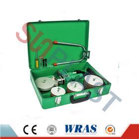 75-110mm Socket Fusion заварување машина за PPR цевки и засилувач; HDPE цевка