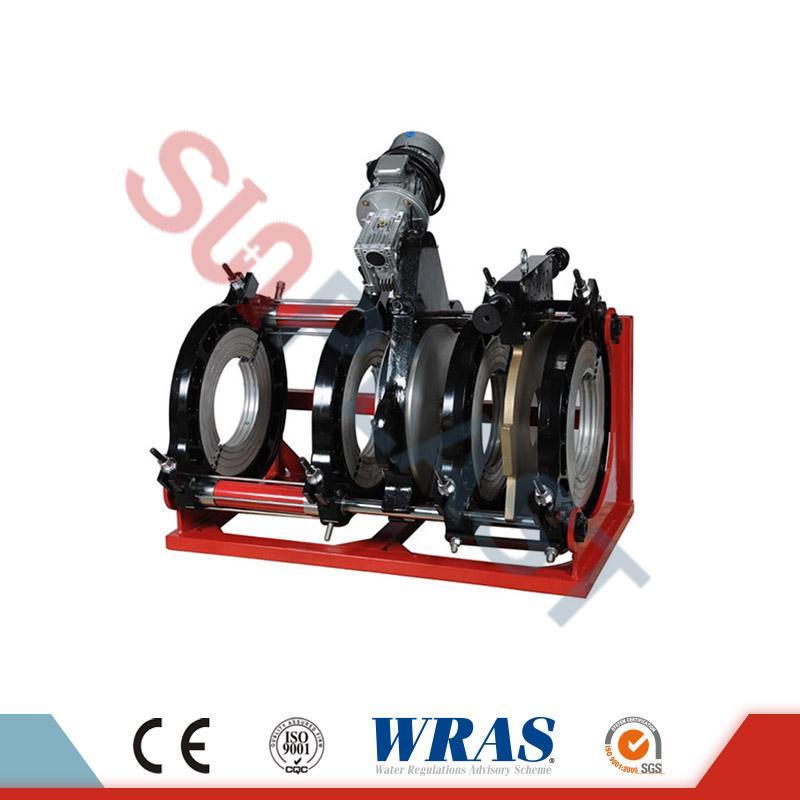 280-450mm хидрауличен задник за топење заварување машина за HDPE цевки