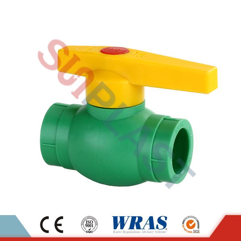 DIN8077 ППР топчести вентили