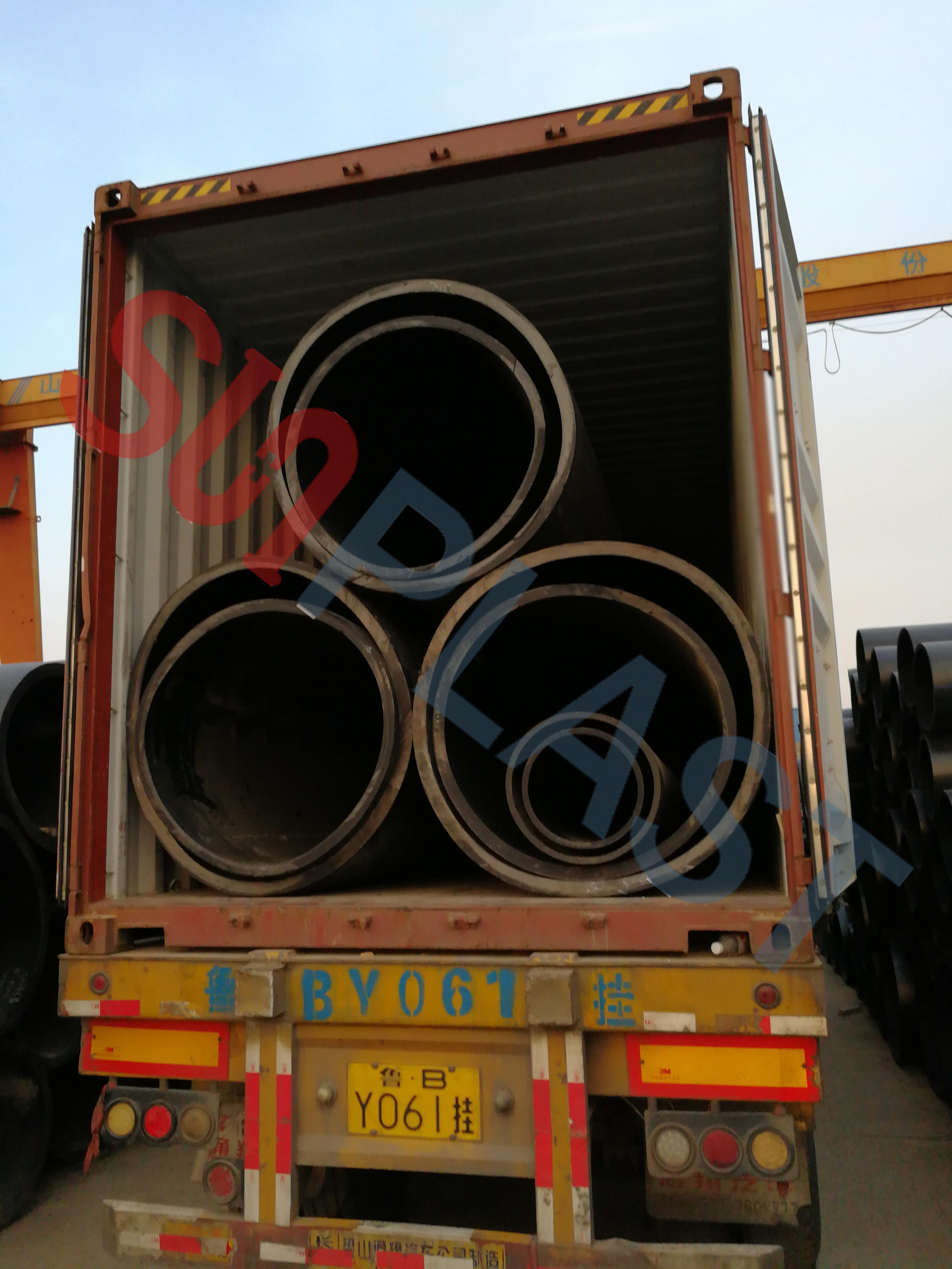 SUNPLAST DN1000 / DN1200mm HDPE цевка во Австралија